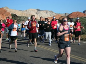 St George, Utah Turkey Trot Triathalon