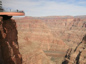 The Skywalk at Grand Canyon West Rim