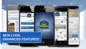 Best Western to Go® app is available in stores!