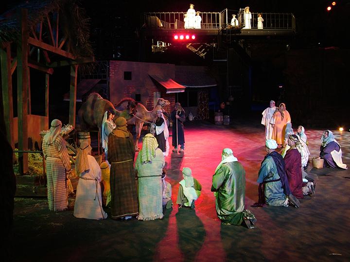 Live Nativity at Tuacahn