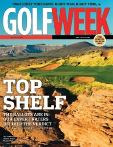 Golf Week Cover - Sand Hollow