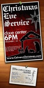 Christmas Eve Service, Calvary Chapel, St. George, UT
