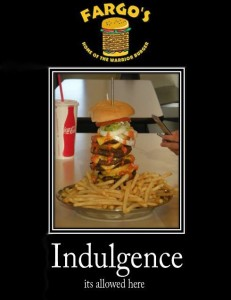 Fargos indulgence... the Warrior Burgar