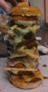Fargo's Warrior Burger