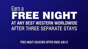 Best Western 2012 Spring Promotion