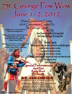 Pow wow, 2012 Schedule