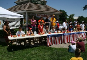 Fourth of July in St. George, Utah