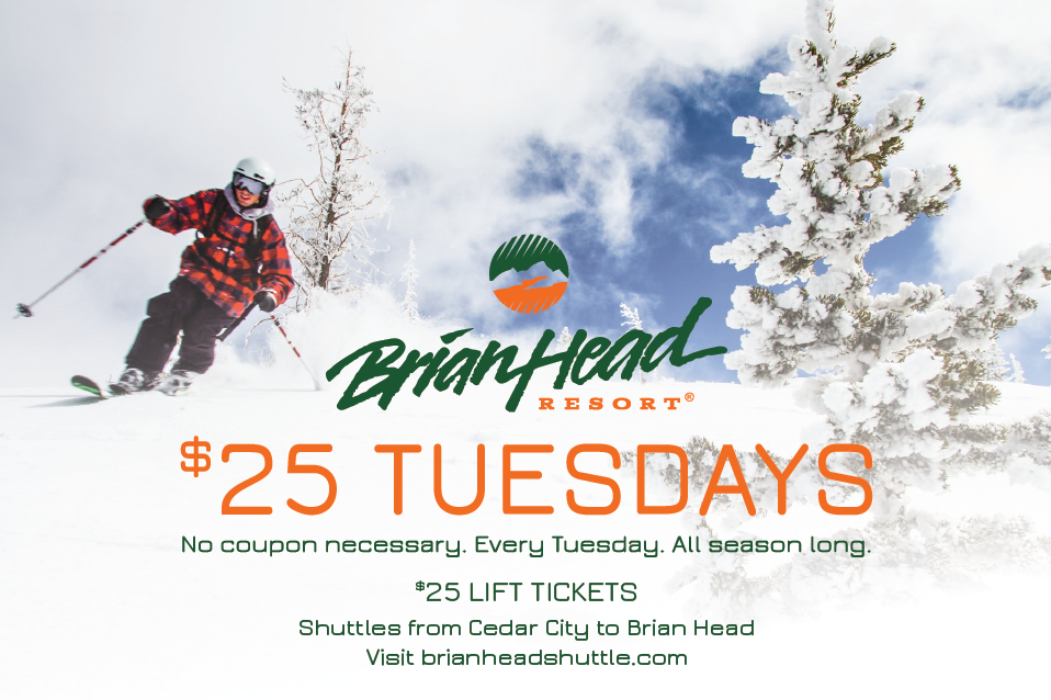 Ski Brian Head Resort...at a discount