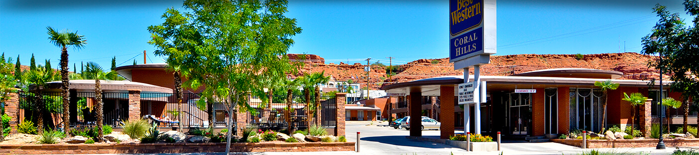 Great location st george hotels best western coral hills for Affordable pools st george utah